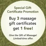 Loosen Up Body Work Gift Certificate Offer