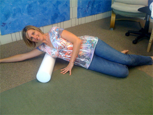 Foam Roller for Self Myofascial Release