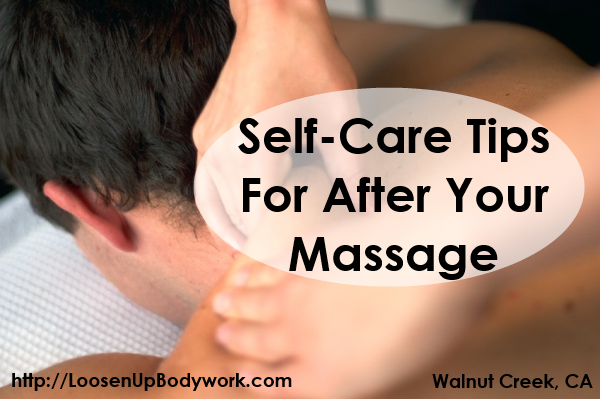 Self-Care Tips for After Your Massage