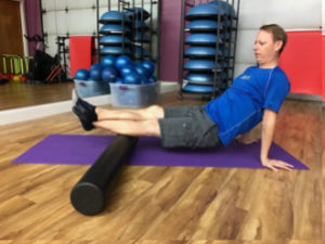 Calf Muscles - Foam Roller