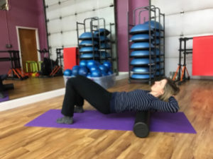Upper Back - Foam Roller